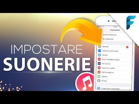 Impostare SUONERIE su iPhone senza Computer (iOS 11) (2018) - Ecco come!
