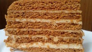 Торт Медовик.Простой и вкусный рецепт.
