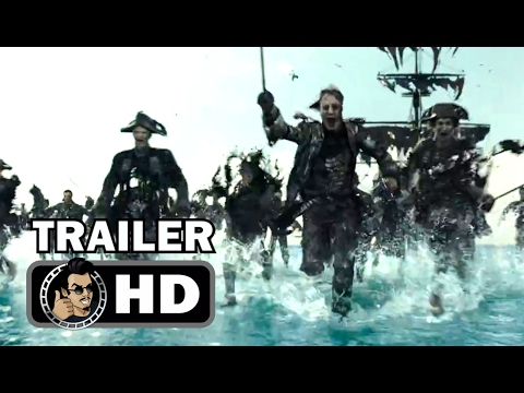 PIRATES OF THE CARIBBEAN 5 Extended Super Bowl Spot + Trailer (2017) Johnny Depp Movie HD