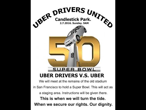 Uber Drivers to Kick Off Protest During Super Bowl 50