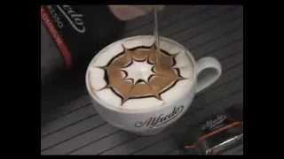 Рисунок в кофейной чашке(Рисунок на кофе - быстро и просто! Мастер класс. Смотрите и попробуйте сами сделать рисунок в кофейной чашке!, 2014-02-13T20:45:57.000Z)