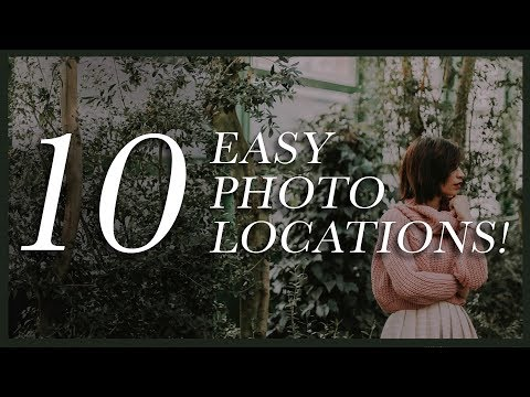 10 Easy Photoshoot Location Ideas Signature Edits Edit