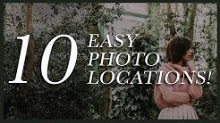 10 Easy Photoshoot Location Ideas (Must Try Photo Locations!)