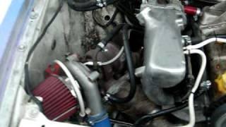 Audi 80 B3 1.8 JN Turbo - first start