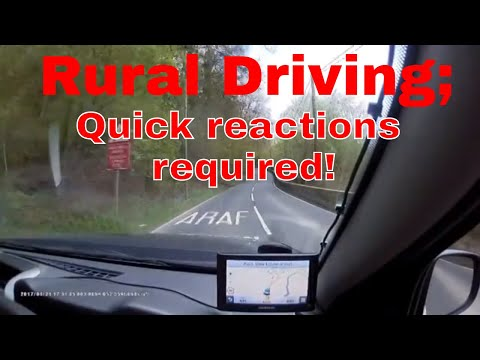 Rural driving!