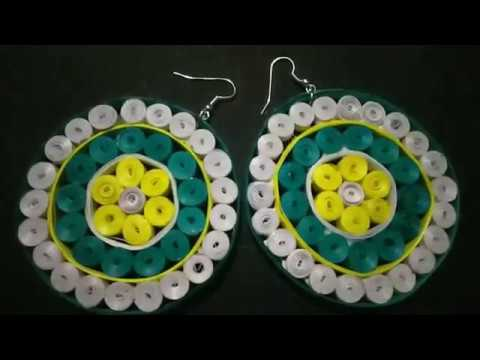 Paper Quilling | DIY | Paper Quilling Earings | Tutorial