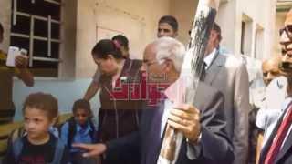 محافظ القاهرة يتفقد مدرسة
