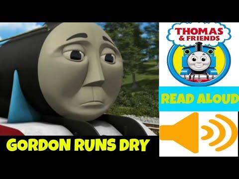 Gordon Runs Dry -Thomas and Friends Storybook