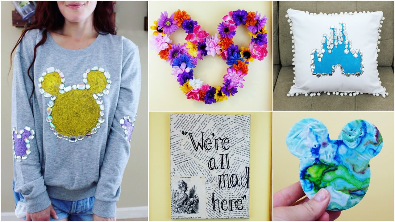 disney crafts diy easy inspired cheap craft diys