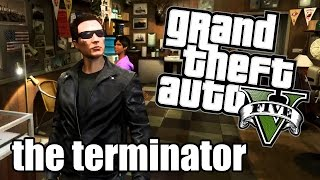 GTA 5 ONLINE - How to Look Like the Terminator
