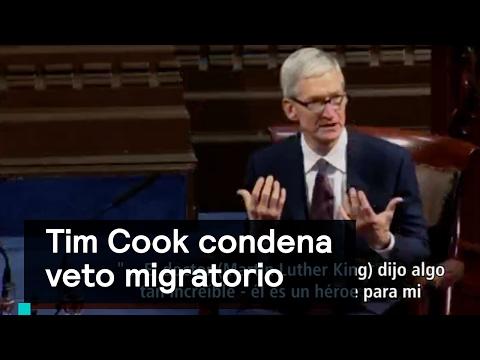 CEO de Apple condena veto migratorio de Donald Trump - Despierta con Loret
