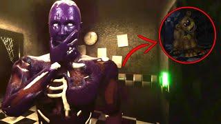 ESCENA SECRETA De M.Afton Y GOLDEN FREDDY ! EPICO | Creepy Nights at Freddys FNAF 1 REMASTERIZADO