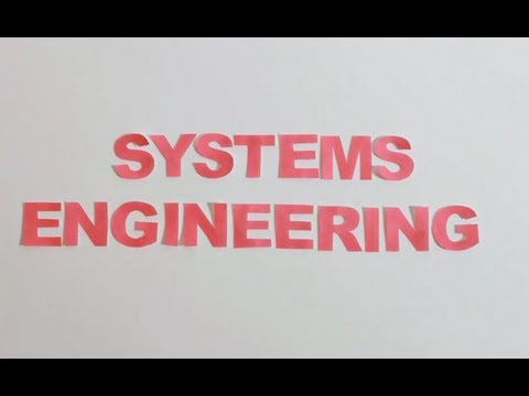 """What is """"Systems Engineering"""" ? 