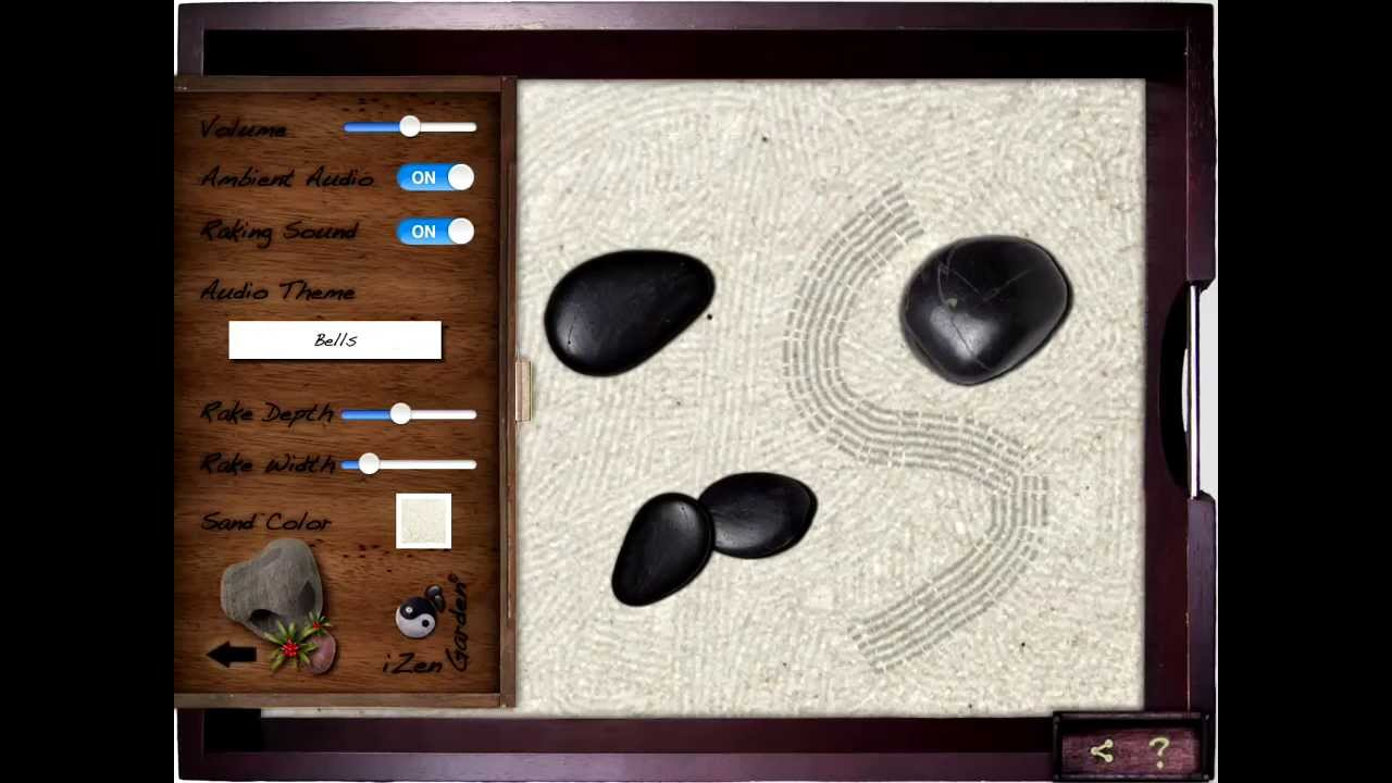 Table Top Zen Garden Izen Garden For Ipad Tabletop Zen Garden First Look Review Test