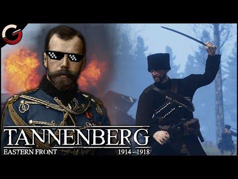 COSSACKS CHARGE! Insane Trench Warfare in WW1 | Tannenberg Gameplay |