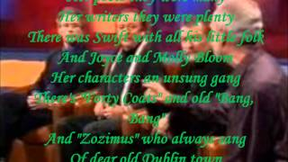 WOLFE TONES - FAREWELL TO DUBLIN ( LYRICS ) VINYL 1983