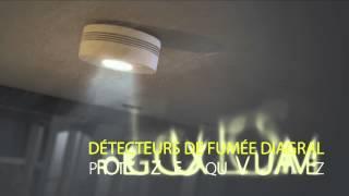 Fonctionnement des détecteurs de fumée interconnectables Diagral