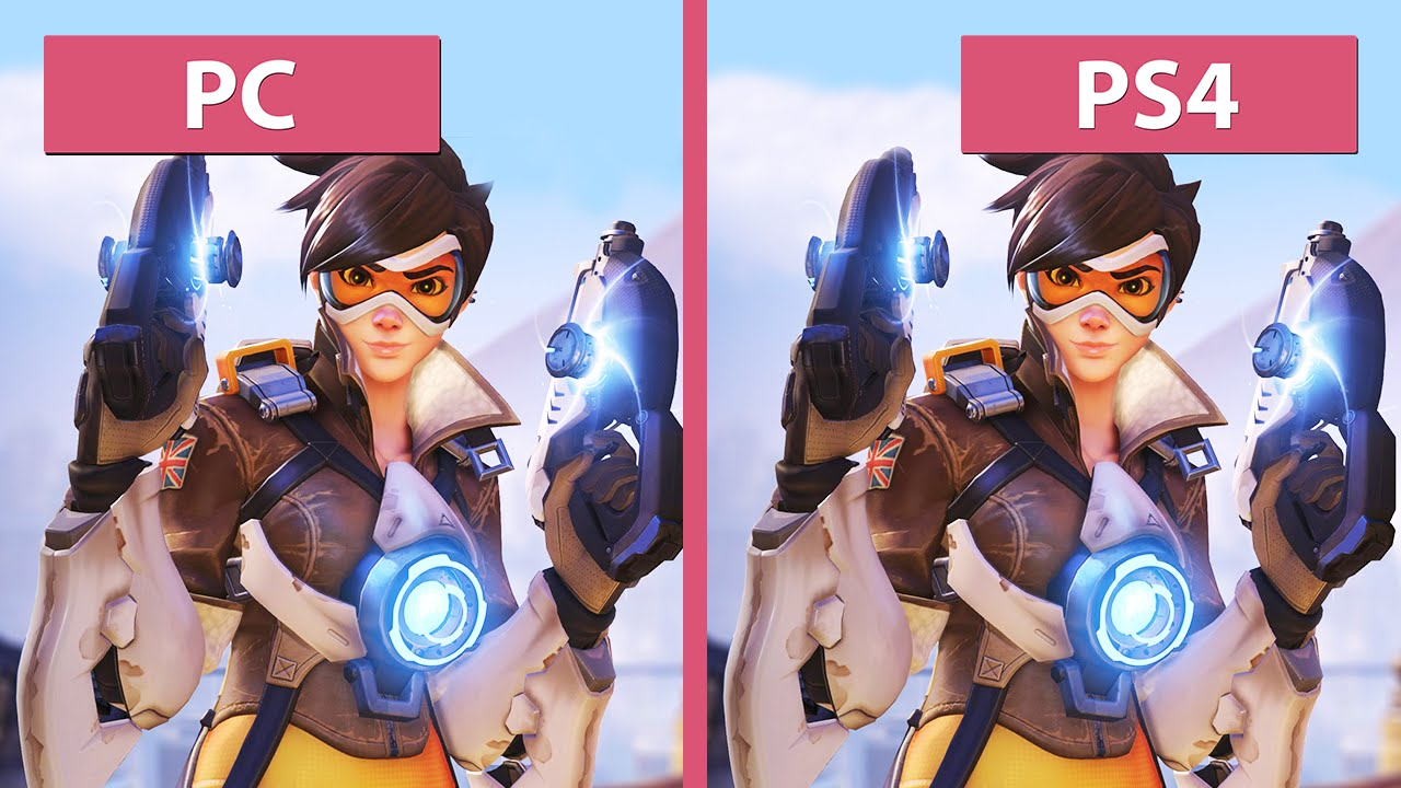 a3c85bd0db3757 Overwatch – PC vs. PS4 Graphics Comparison - YouTube