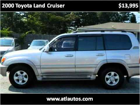 2000 Toyota Land Cruiser Used Cars Snellville GA