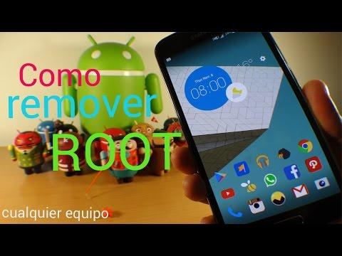 Como quitar root en Android - Fácil