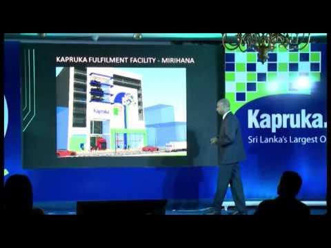 "Kapruka's CEO's Keynote - 5 ""Things"" Kapruka is doing this year leading E-commerce space"
