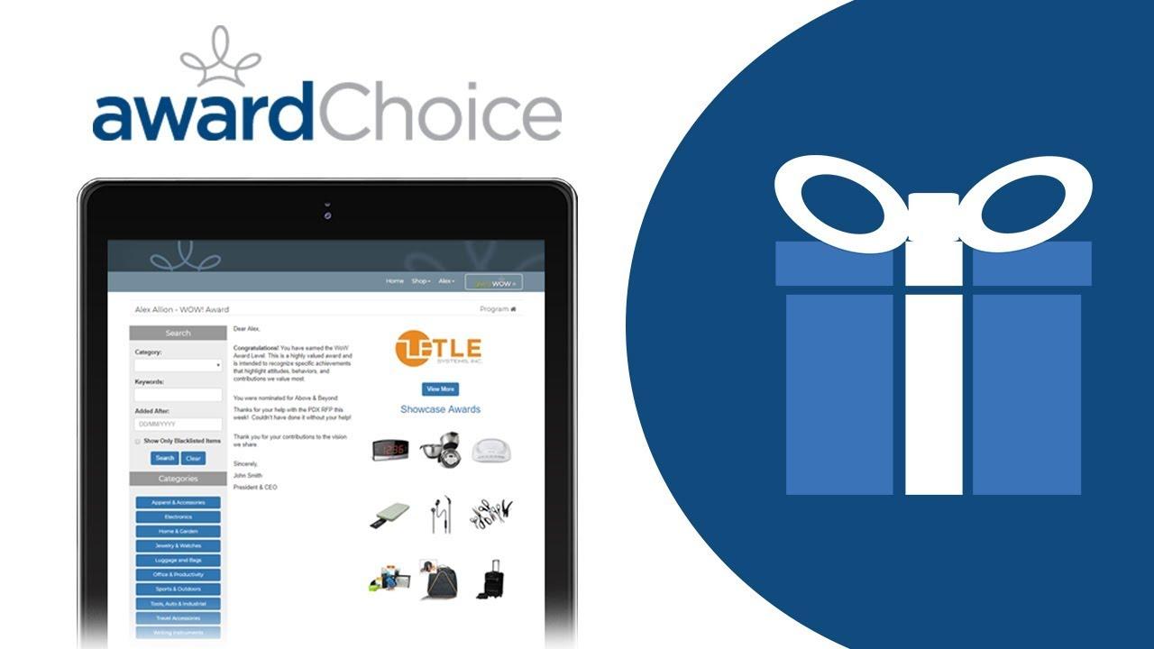 Employee Appreciation Gift Catalog - Employee Award Catalog