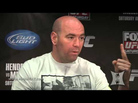 Dana White talks about Menieres Disease treatment Orthokine - UFC Scrum on FOX 7-