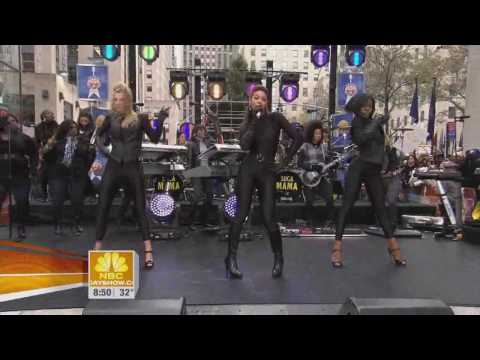 Beyonce  Single Ladies ft Heather Morris Live Rockefeller Plaza HD