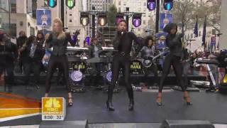 Beyonce - Single Ladies ft Heather Morris (Live Rockefeller Plaza) HD