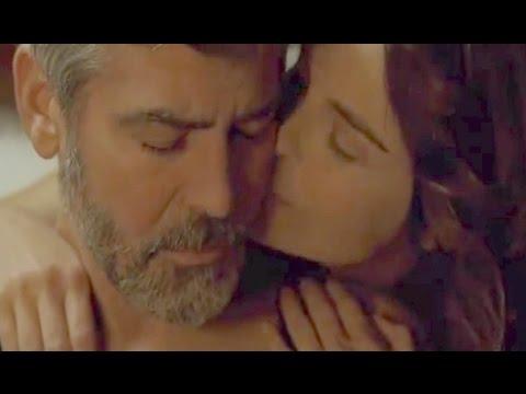 George Clooney And Irina Bjorklund Love Scene In The American