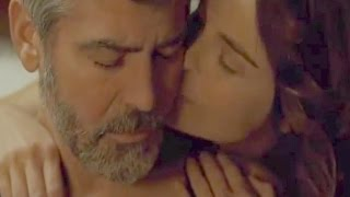 George Clooney And Irina Bjorklund Love Scene In The American