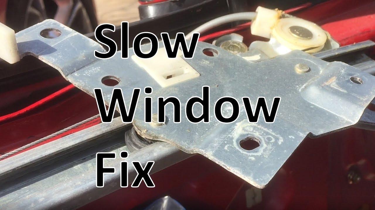 Miata Slow Window Fix Youtube