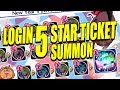 LOGIN 5 STAR TICKET SUMMON! Bleach Brave Souls