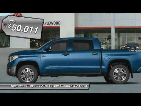 2018 Toyota Tundra 4WD Limited Maplewood, St Paul, Minneapolis, Brooklyn Park, MN J10279