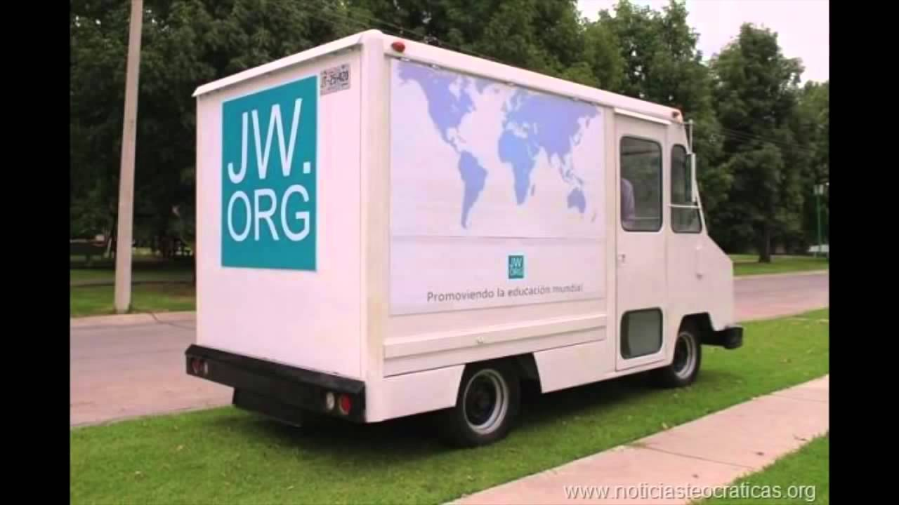 JWORG truck Jehovah Witness Jehovah39s witnesses Public