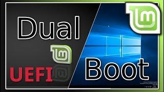 Linux Mint 18.2 neben Windows 10 installieren - Anfänger - [UEFI]