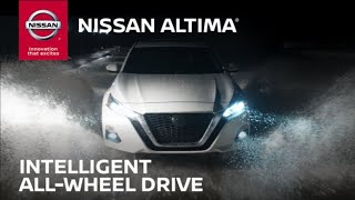 homepage tile video photo for 2019 Nissan Altima Intelligent All-Wheel Drive (AWD) Technology Overview