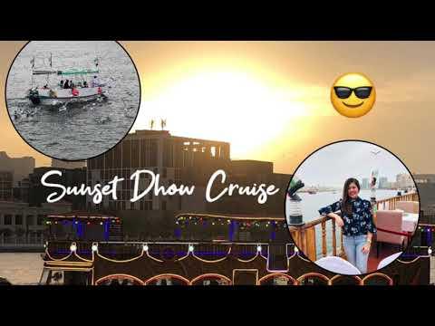 Sunset Dhow Cruise at Dubai Creek!
