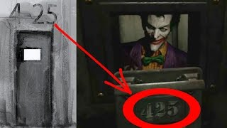 Batman: Arkham 4-25 Easter Egg EXPLAINED!