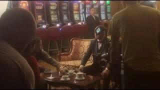 """Съески сериала """"Желтый глаз тигра"""" в казино SOBRANIE"""