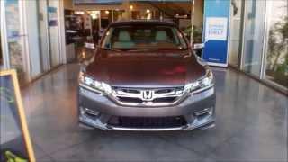 2013 Honda Accord EX-L V6 Sedan with accessories