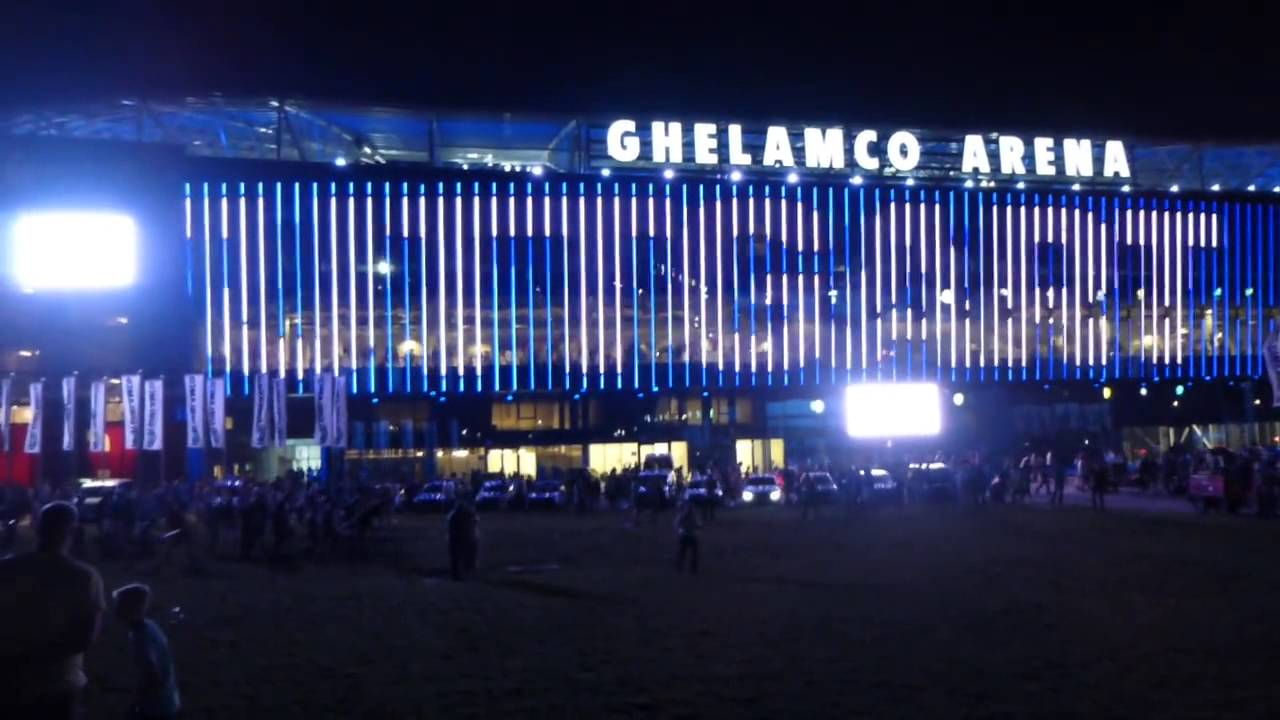 Kaa Gent Ghelamco Arena Led Wall Youtube