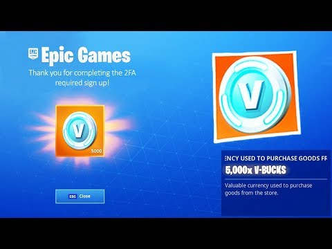 Fortnite is Giving Everyone FREE VBUCKS (did you get them?)