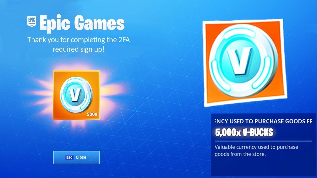 Fortnite is Giving Everyone FREE VBUCKS (did you get them ...