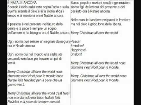 Canzoni natalizie lyrics
