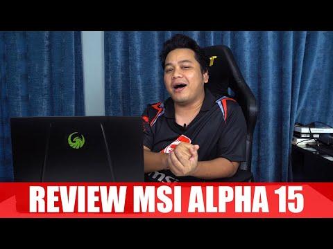 Sejuk Gila Laptop AMD - Review MSI Alpha 15