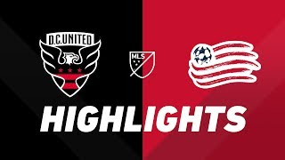 D.C. United vs. New England Revolution | HIGHLIGHTS - July 12, 2019