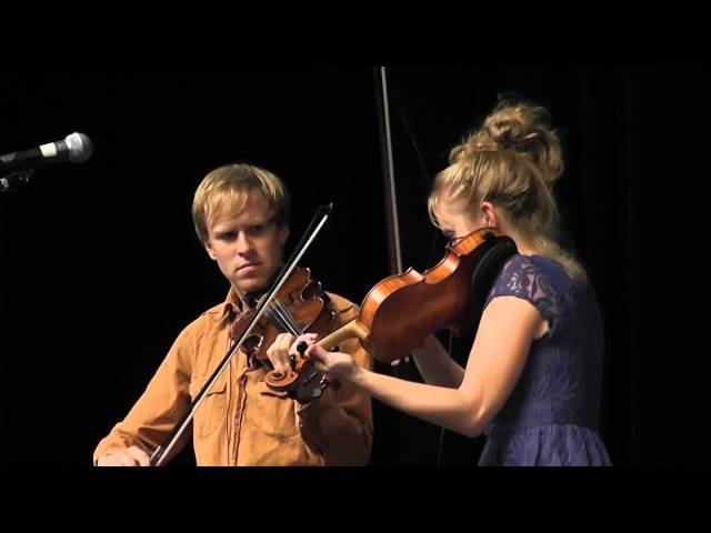 Scottish Fiddle Duo - with Jeremy Kittel and Hanneke Cassel