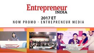 Entrepreneur India 2017 ET now Promo
