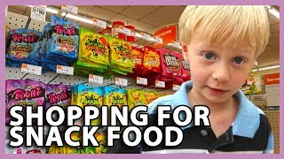 SHOPPING FOR SNACK FOOD (7/30/18 - 8/2/18)